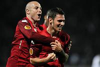 Fotball<br /> Frankrike<br /> Foto: DPPI/Digitalsport<br /> NORWAY ONLY<br /> <br /> FOOTBALL - UEFA EUROPA LEAGUE 2009/2010 - GROUP B - LILLE OSC v GENOA FC - 22/10/2009<br /> <br /> JOY LUDOVIC OBRANIAK (LIL) AFTER HIS GOAL