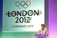 Sebastian Coe, London 2012