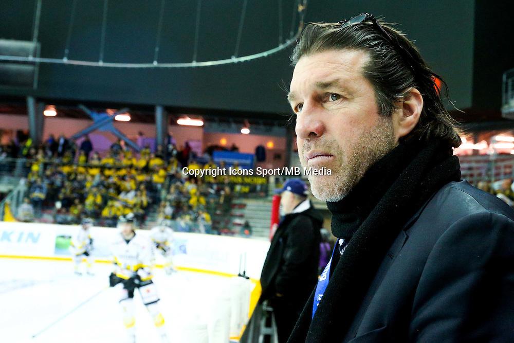 Guy Fournier - 25.01.2015 - Rouen / Amiens - Finale Coupe de France 2015 de Hockey sur glace<br /> Photo : Xavier Laine / Icon Sport