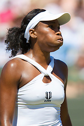 LONDON, ENGLAND - Tuesday, July 1, 2008: Venus Williams (USA) during her Ladies' Singles Quarter-Final on day eight of the Wimbledon Lawn Tennis Championships at the All England Lawn Tennis and Croquet Club. (Photo by David Rawcliffe/Propaganda)