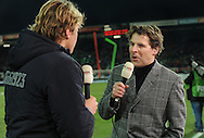 17-02-2009 TOINE VAN PEPERSTRATEN<br /> Toine van Peperstraten in een interview met Youri Mulder voor NEC - HSV voor de Uefacup <br /> Foto: Geert van Erven
