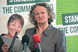 © Licensed to London News Pictures. 24/02/2015. London, UK. Jenny Jones AM Baroness Jones of Moulsecoomb.  The Green Party Campaign Launch ahead of the UK general election at RSA House in Central London today 24th February 2015. Photo credit : Stephen Simpson/LNP