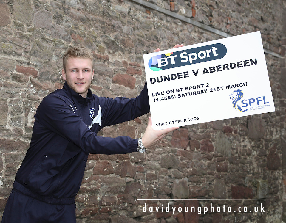 Dundee keeper Scott Bain - Dundee v Aberdeen pre-match press <br /> <br />  - &copy; David Young - www.davidyoungphoto.co.uk - email: davidyoungphoto@gmail.com