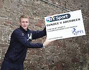 Dundee keeper Scott Bain - Dundee v Aberdeen pre-match press <br /> <br />  - &copy; David Young - www.davidyoungphoto.co.uk - email: davidyoungphoto@gmail.com