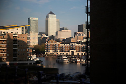 UK ENGLAND LONDON 20APR15 - View of Canary Wharf in the Docklands, London.<br /> <br /> jre/Photo by Jiri Rezac<br /> <br /> © Jiri Rezac 2015