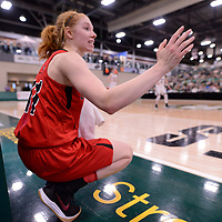 U Sports 2018 Women's National Basketball Championship Gold Medal game on March  11 at the Centre for Kinesiology, Health and Sport Regina,Saskatchewan. Credit: Arthur Ward/Arthur Images