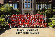 2017-18 King's High School Football