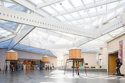 Nasher Museum Interior. Durham, North Carolina | Architect: Rafael Viñoly
