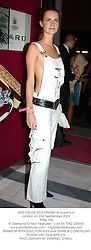 MISS CHLOE DELEVINGNE at a party in London on 21st September 2003.<br /> PMU 100