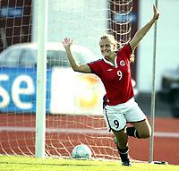 Fotball, 26. juli 2005, U21 damer, Åpent nordisk mesterskap, finale, Norge- USA 1-4,  Lindy Melissa Wiik, Norge
