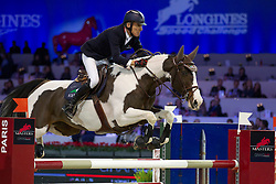 Robert Michel (FRA) - Catapulte<br /> Gucci Masters - Paris 2012<br /> Longines Speed Challenge<br /> © Hippo Foto - Cindy Voss