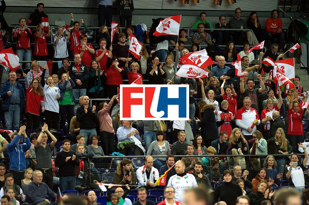 LEIZPIG - WC HOCKEY INDOOR 2015<br /> AUT v IRI (Semi Final 2)<br /> Fans<br /> FFU PRESS AGENCY COPYRIGHT FRANK UIJLENBROEK