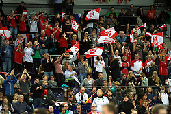 LEIZPIG - WC HOCKEY INDOOR 2015<br /> AUT v IRI (Semi Final 2)<br /> Fans<br /> FFU PRESS AGENCY COPYRIGHT FRANK UIJLENBROEK