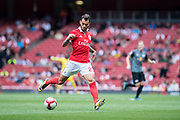 Benfica defender Pedro Pereira (23) during the Emirates Cup 2017 match between Leipzig and Benfica at the Emirates Stadium, London, England on 30 July 2017. Photo by Sebastian Frej.