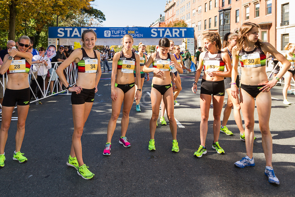 Tufts Health Plan 10K for Women Brooks Hansen team