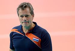 28-09-2014 ITA: World Championship Volleyball Mexico - Nederland, Verona<br /> Nederland wint met 3-0 van Mexico / Coach Gido Vermeulen