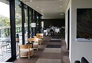 Royal South Yarra Lawn Tennis Club existiert seit 1884.<br /> Klubhaus Restaurant und Terrasse.