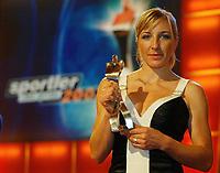 Skøyter<br /> Foto: Digitalsport<br /> Norway Only<br /> <br /> Anni Friesinger Eisschnelllauf <br /> Sportler des Jahres 2003 Baden-Baden