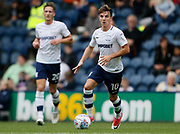 Josh Harrop of Preston North End during the EFL Sky Bet Championship match between Preston North End and Millwall at Deepdale, Preston, England on 23 September 2017. Photo by Paul Thompson.