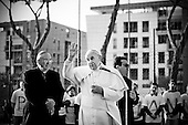 Pope Francis visits the suburb of Tor Bella Monaca