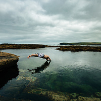 The Pollock Holes, Kilkee, County Clare, Ireland