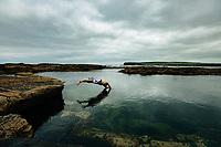 The Pollock Holes, Kilkee, County Clare, Ireland