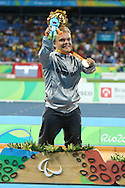 Niko Kappel of Germany wins Gold in the men's F41 Shot Put on Day One of the Rio Paralympics  in Rio de Janeiro, Brazil<br /> Picture by EXPA Pictures/Focus Images Ltd 07814482222<br /> 08/09/2016<br /> *** UK & IRELAND ONLY ***<br /> <br /> EXPA-EIB-160909-0040.jpg