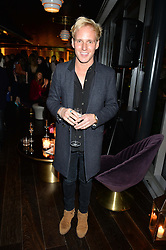 JAMIE LAING at the Launch Of Osman Yousefzada's 'The Collective' 4th edition with special guest collaborator Poppy Delevingne held in the Rumpus Room at The Mondrian Hotel, 19 Upper Ground, London SE1 on 24th November 2014, sponsored by Storm models and Beluga vodka.