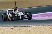 Circuito de Jerez, Spain : Formula One Pre-season Testing 2014. Sergio Perez (MEX), Force India-Mercedes