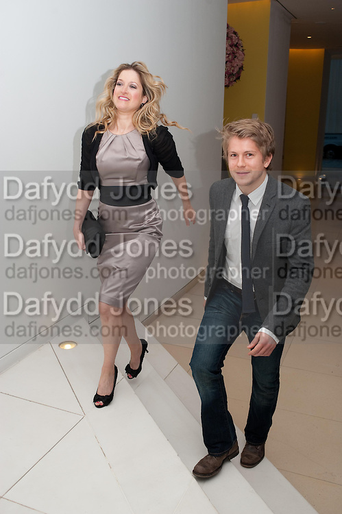 JAIMI BARBAKAFF; GEORGE RAINSFORD, English National Ballet Beyond Ballets Russes at the London Coliseum opening night party at the St Martins Lane Hote, Londonl . 22 March 2012.