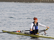 Chiswick, GREAT BRITAIN, General views on the River Thames.  FRA W1X Sophie BALMARY training out of Tideway Scullers Club. Sun  24/02/2008  2008. [Mandatory Credit, Peter Spurrier/Intersport-images] Rowing Course: River Thames, Championship course, Putney to Mortlake 4.25 Miles,