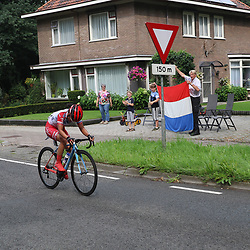30-08-2017: Wielrennen: Boels Ladies Tour: Arnhem<br /> Eri Yonamine was de strijdlustigste vandaag