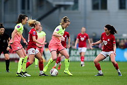 Katie Robinson of Bristol City and Olivia Chance of Bristol City - Mandatory by-line: Ryan Hiscott/JMP - 24/11/2019 - FOOTBALL - Stoke Gifford Stadium - Bristol, England - Bristol City Women v Manchester City Women - Barclays FA Women's Super League