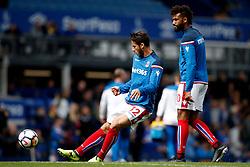 Ramadan Sobhi of Stoke City warms up - Mandatory by-line: Matt McNulty/JMP - 12/08/2017 - FOOTBALL - Goodison Park - Liverpool, England - Everton v Stoke City - Premier League