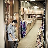 Dress salesman in Kuala Lumpur