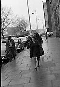 Bernadette Devlin MP at Four Courts.17/11/1971
