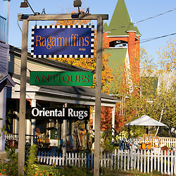 Ragamuffins in downtown Bethlehem, New Hampshire.