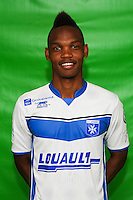 Kenji Van Boto of Auxerre during Auxerre squad photo call for the 2016-2017 Ligue 2 season on September, 7 2016 in Auxerre, France ( Photo by Andre Ferreira / Icon Sport )