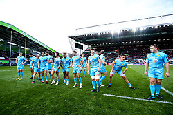 Worcester Warriors line up at Leicester Tigers - Mandatory by-line: Robbie Stephenson/JMP - 03/11/2018 - RUGBY - Welford Road Stadium - Leicester, England - Leicester Tigers v Worcester Warriors - Gallagher Premiership Rugby