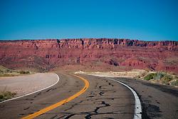 Arizona landscape along a western highway.