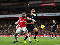 LONDON, ENGLAND - Thursday, December 5, 2019: Arsenal's Alexandre Lacazette during the FA Premier League match between Arsenal FC and Brighton & Hove Albion FC at the Emirates Stadium. (Pic by Vegard Grott/Propaganda)