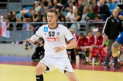 02.11.2016, Arena Nova, Wiener Neustadt, AUT, EHF, Handball EM Qualifikation, Österreich vs Finnland, Gruppe 3, im Bild Nikola Bilyk (AUT)// during the EHF Handball European Championship 2018, Group 3, Qualifier Match between Austria and Finland at the Arena Nova, Wiener Neustadt, Austria on 2016/11/02. EXPA Pictures © 2016, PhotoCredit: EXPA/ Sebastian Pucher