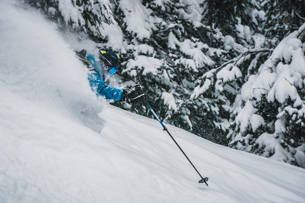 Over 45cm's fell during a 12 hour period at Burnie Glacier, British Columbia, and Simon Thomson was there.