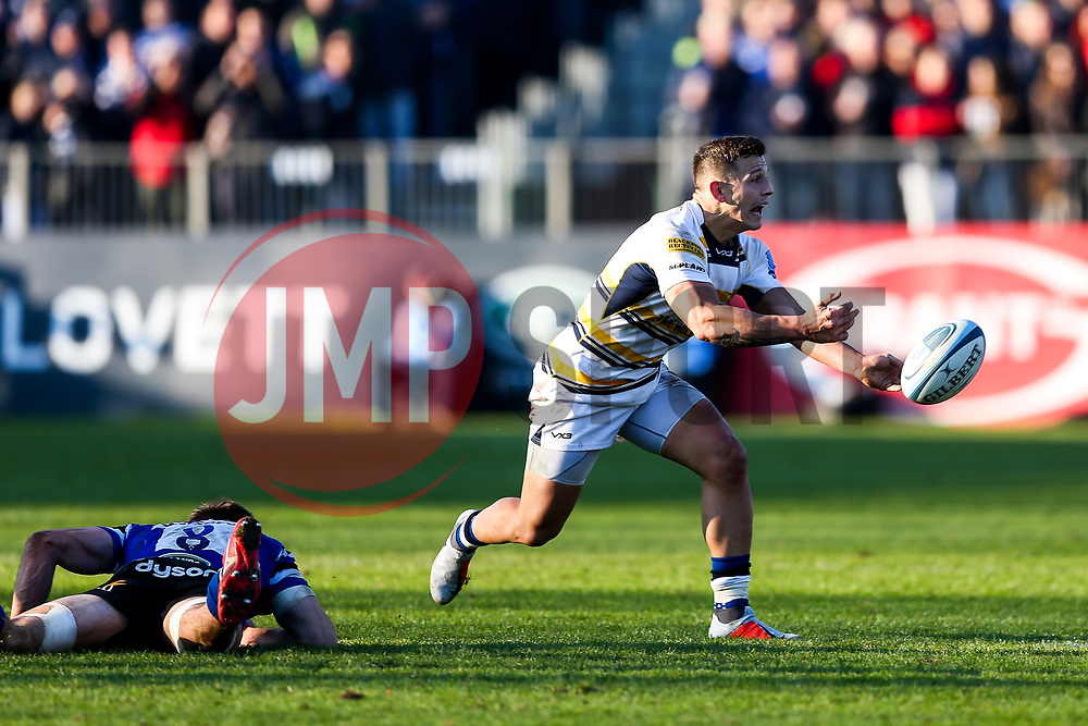 Ryan Mills of Worcester Warriors - Rogan/JMP - 17/11/2018 - RUGBY UNION - The Recreation Ground - Bath, England - Bath Rugby v Worcester Warriors - Gallagher Premiership.