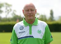 German Soccer Bundesliga 2015/16 - Photocall of VfL Wolfsburg on 16 July 2015 at the Volkswagen-Arena in Wolfsburg, Germany: masseur Joerg Drill