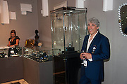 Nick Silver at the Opening of The LAPADA  Art and Antiques Fair. Berkeley Sq. London. 24 September 2013.