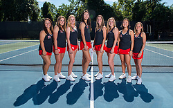 The Rutgers Scarlet Knights women's tennis team photo on Wednesday, September 14, 2016.<br /> (Ben Solomon/Rutgers Athletics)`