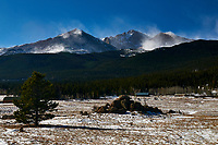 East Side of Rocky Mountain National Park from Colorado Highway 7. Image taken with a Nikon D300 camera and 17-35 mm f/2.8 lens (ISO 200, 35 mm, f/22, 1/60 sec).