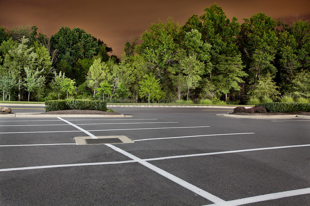 Urban Landscape parking lot
