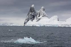 Lemair Channel in Antarctica